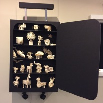 who packed a cell samples suitcase of species that could contribute to a new civilization.